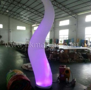 inflatable led lighting decoration