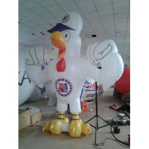 Inflatable cartoon cock