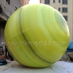 Inflatable Saturn balloon