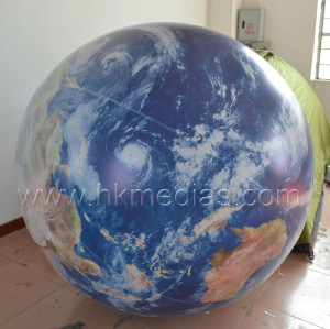 Inflatable Earth balloon
