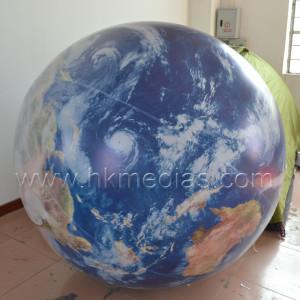 Inflatable Earth balloon