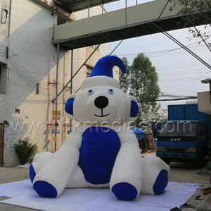 Inflatable push bear