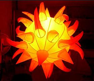 Infltable Lighting star decroration