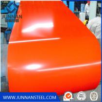 PPGI color coated galvanized steel plate in coil JIS standard SGCC grade
