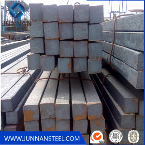 China Tangshan hot rolled Square Steel bar for Building