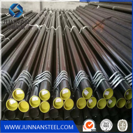 Black Carbon Steel Seamless Pipe for oil and gas