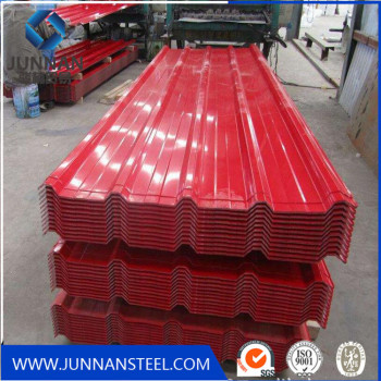 China  Hebei Tangshan corrugated steel roofing sheet with high quality for Container Plate
