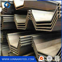 China Steel Sheet Pile for sales/piling beam/used steel sheet pile jis standard