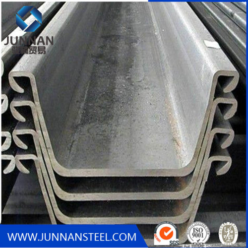 Hot rolled steel sheet pile 400*100 u