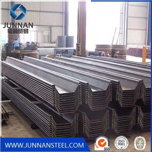 u type sy295 type hot rolled steel sheet pile