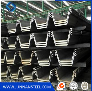 Tangshan hot rolled steel sheet piles with Z U type