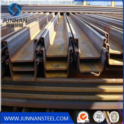 U type GB standard steel sheet pile for floor decking