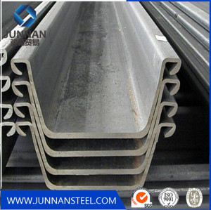 q345b  steel sheet pile for construction from China
