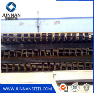 U type GB standard steel sheet pile for floor decking