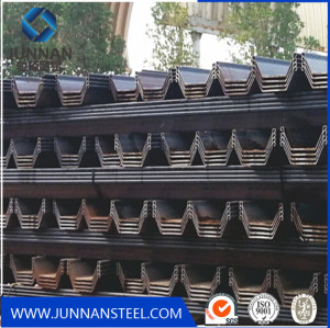 Q345B hot rolled steel sheet pile price in China
