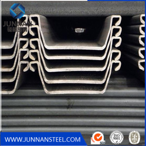 S355JO u type steel sheet pile for construction in China
