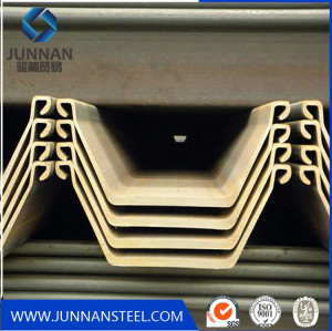 SY295 SY390 U type hot rolled pile retaining wall