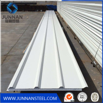 High quality corrugated iron sheets for roof with PPGI in Tangshan