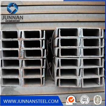 Low carbon  u channel steel with factory price
