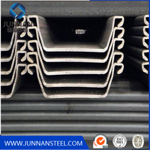 Q345 steel sheet pile on construstion Chiana supplier