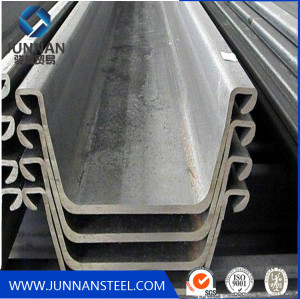 Hot sale steel sheet pile on construstion Chiana supplier