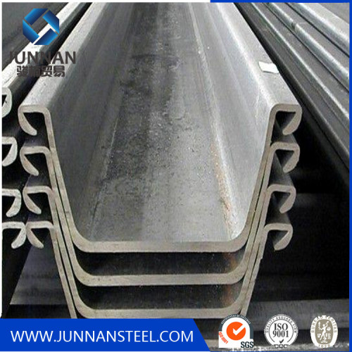 High quality steel sheet pile on construstion Chiana supplier