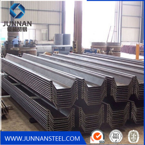 High quality low carbon steel sheet pile with cheap price