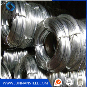 Hot sale low carbon galvanized steel wire supply in Tangshan