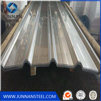 galvanized corrugated sheet pile zinc coated corrugated roofing panels