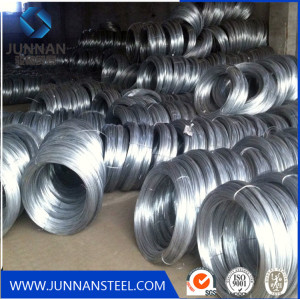 Low price gi steel wire in coils for binding wire