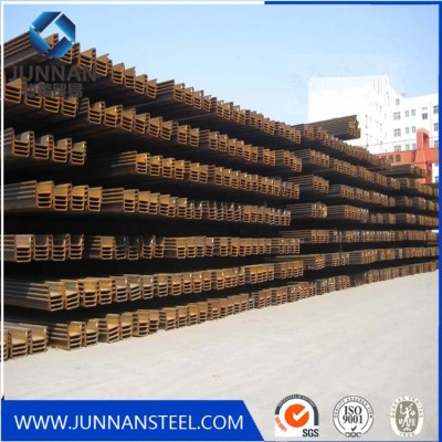 China Hot rolled SY295 larsen steel sheet pile lower prices