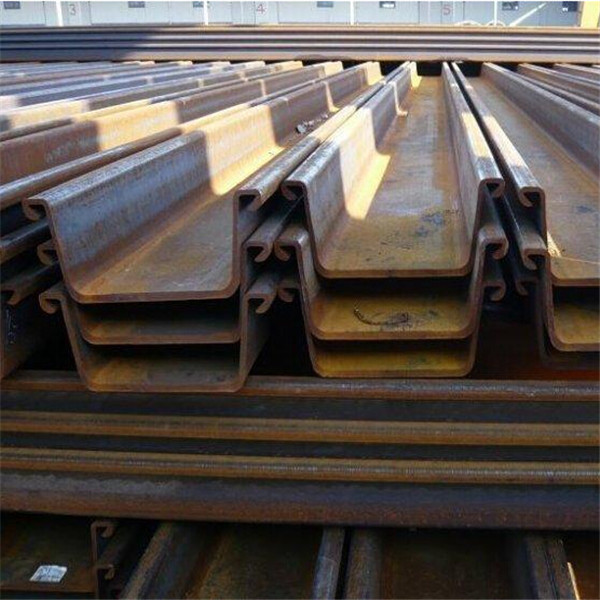 steel sheet pile installation