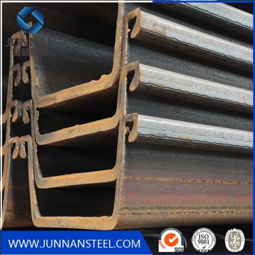 Top 10 selling steel product! used steel sheet piling beams for sale in china