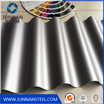 Factory Direct Sale Galvanized Corrugated Zinc Aluminum Roofing Sheet Price Junnan Steel