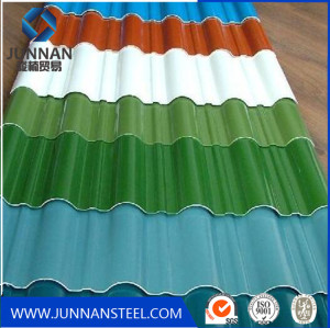 Galvanized Corrugated Roofing steel sheets 0.11mm for Philippine market