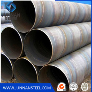 Spiral welded steel pipe manufactur China for construction ornament