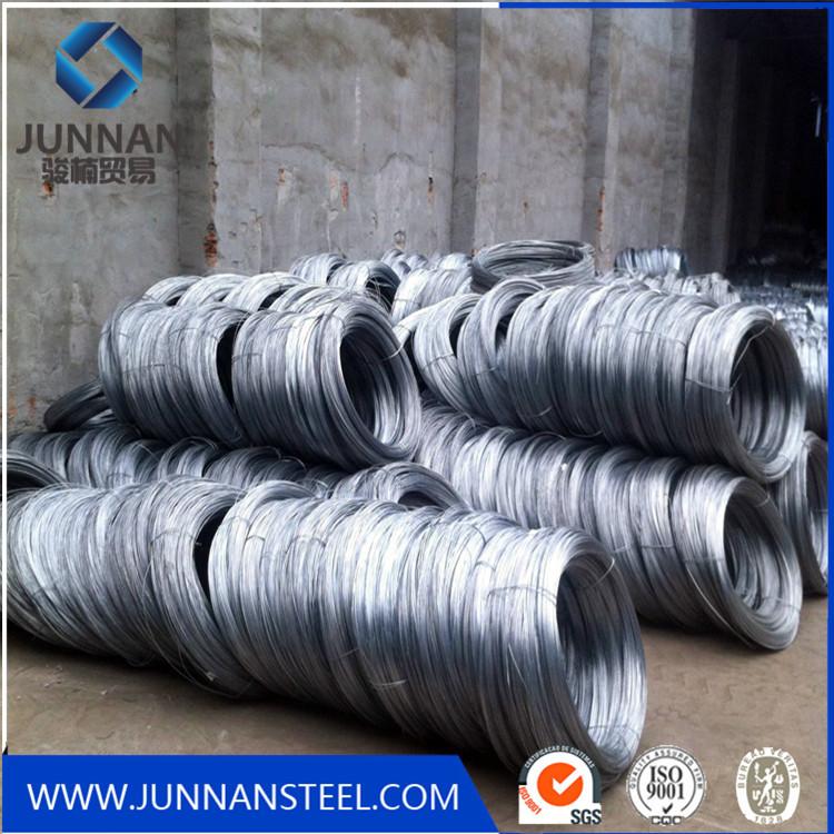 alambre de acero galvanizado
