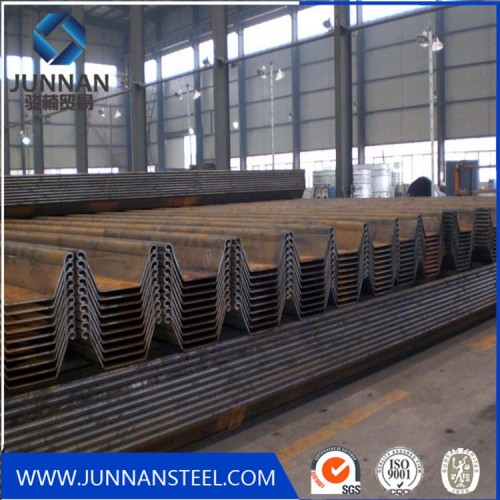 U400*100-U400*170mm sizes steel sheet pile