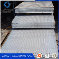 MS Carbon Steel Tear Drop S275jr SS400 A36 Q235 Checkered Steel Plate