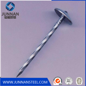 14mm galvanized polished common wire iron nails