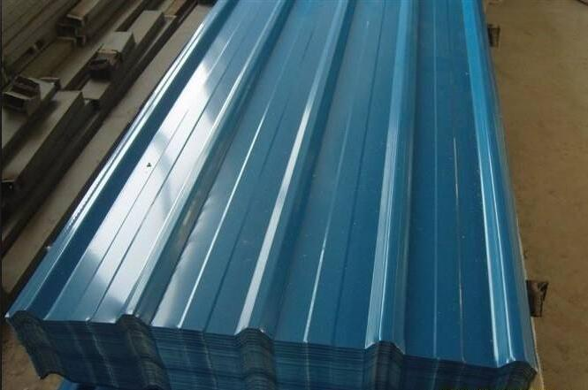 corrugated steel roofing sheet thermocol