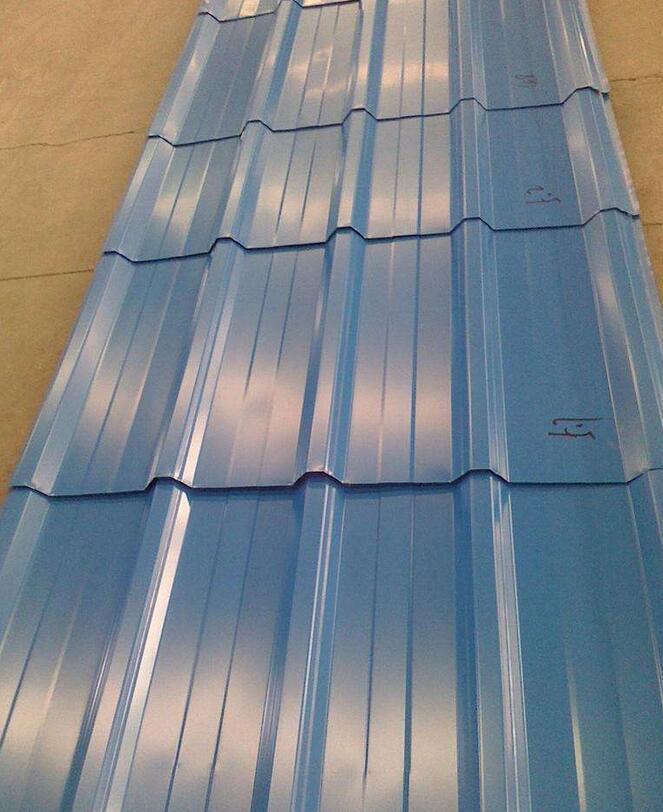 14 gauge corrugated steel roofing sheet
