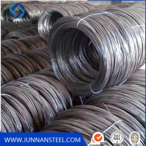 High Quality Eelctro Galvanized Black Steel Wire
