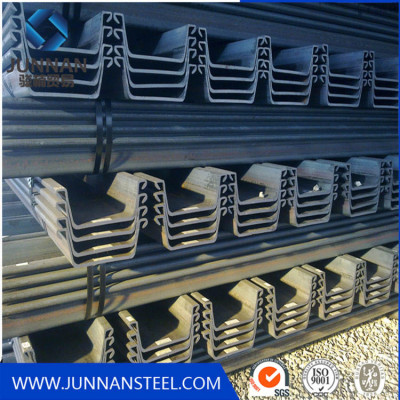 supply high quality low price used steel sheet pile
