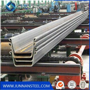 High quality Q345B steel sheet pile from China