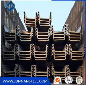 Steel Profiles Sheet Pile From Building Material Factory