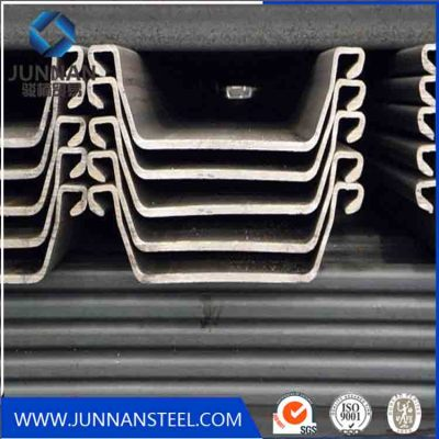 High Quality Steel Sheet Pile Used in Road, River