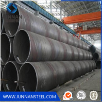 Q235 Q345 price large diameter corrugated welded spiral steel pipe