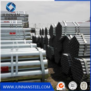 ERW Hot DIP Galvanized Steel Tube BS1387 Galvanized Steel Pipe