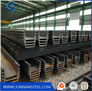 China Factory High Quality Steel Sheet Pile with JIS Standard Sy295